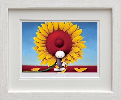 Here Comes The Sun by Doug Hyde - Framed Limited Edition on Paper