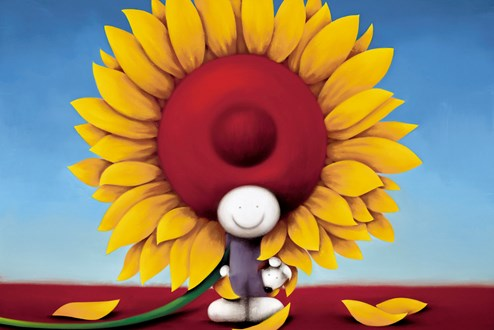 Here Comes The Sun by Doug Hyde - Limited Edition on Paper